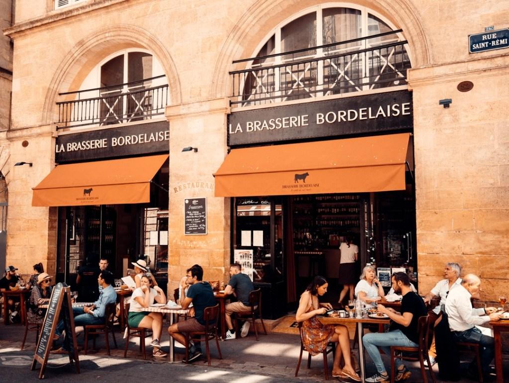 restaurant brasserie bordelaise