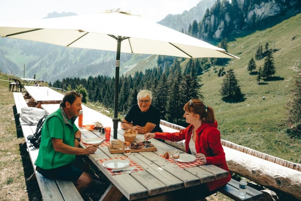 repas alpage de novel