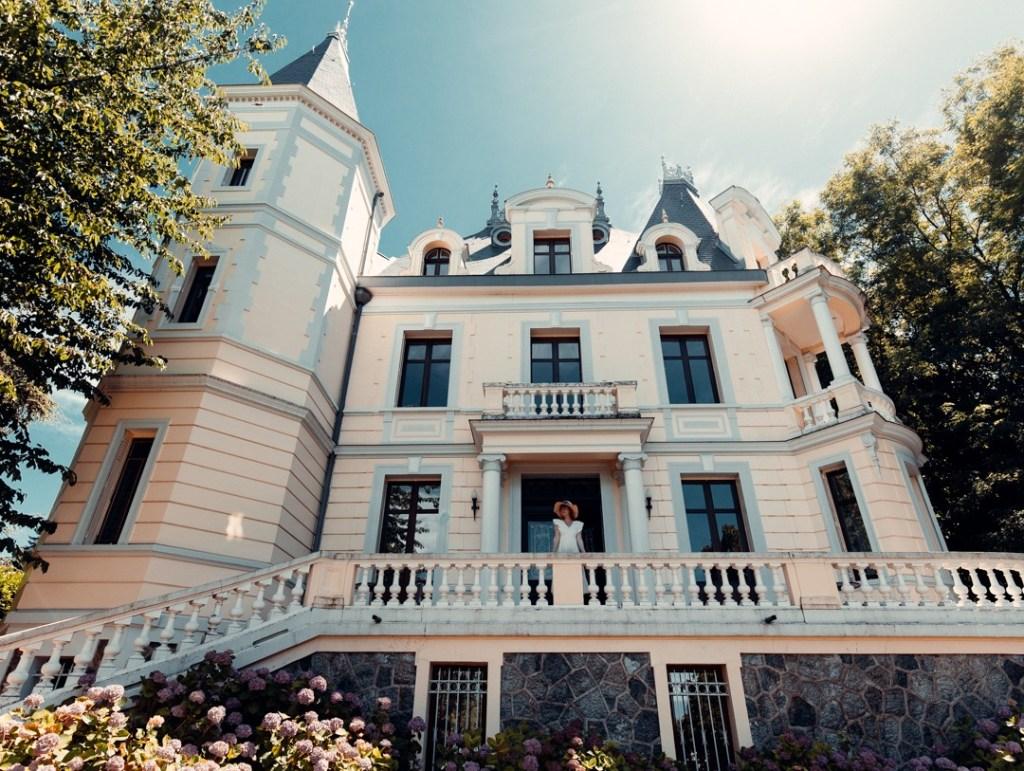 visite villa chatelet evian
