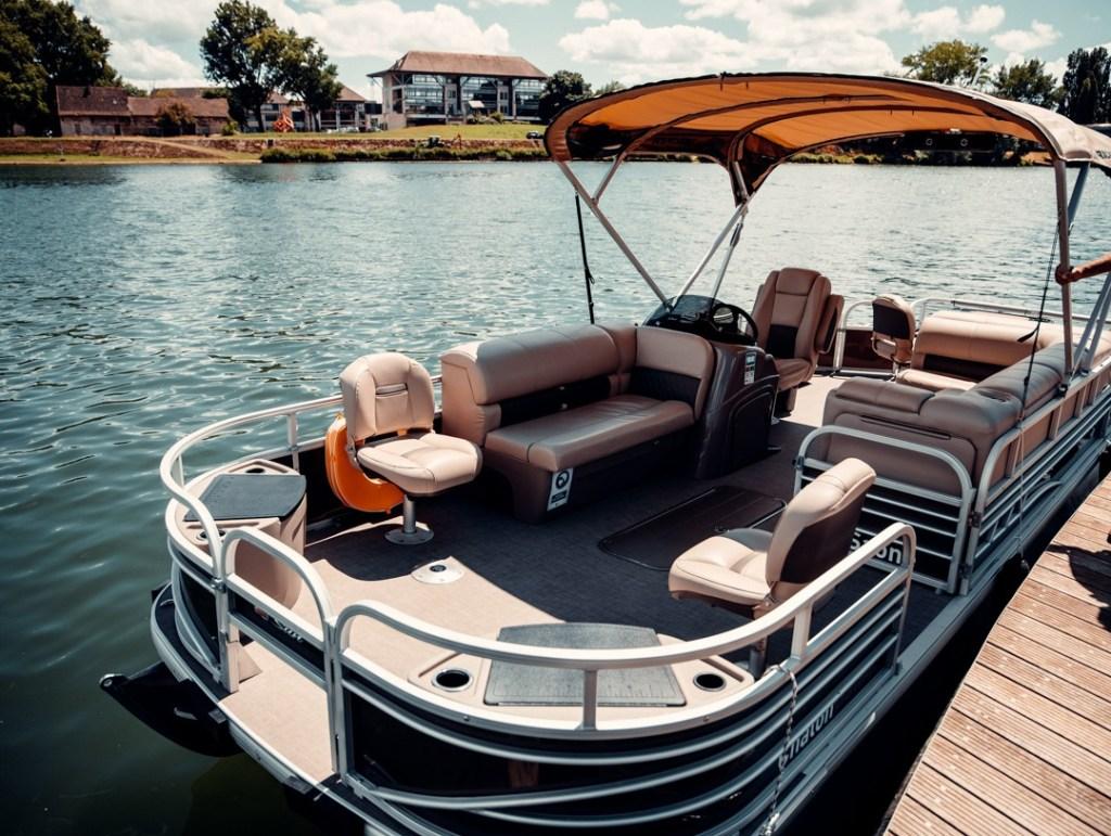 pontoon boat chalon sur saone
