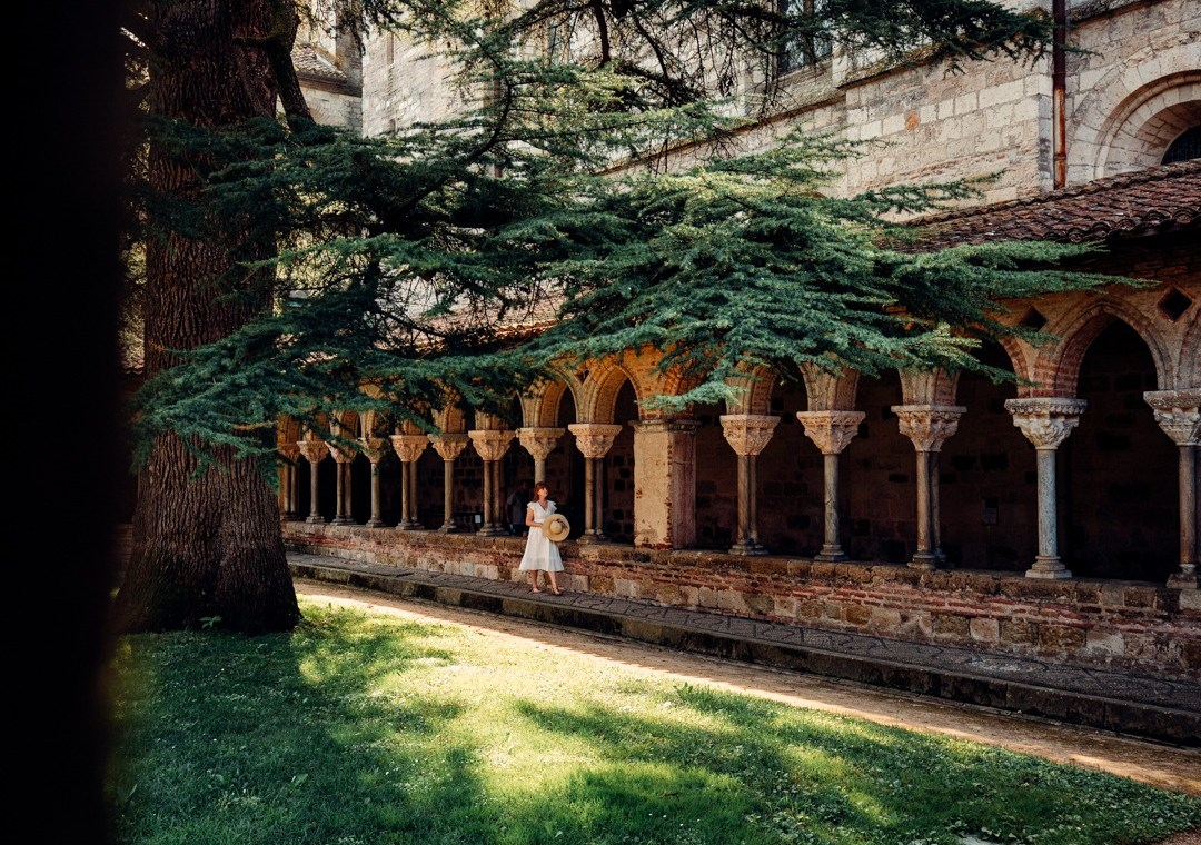parc cloitre abbaye de moissac