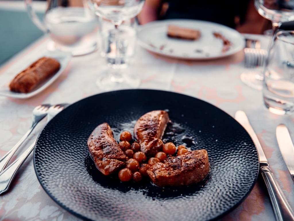 repas gastronomique manoir saint jean