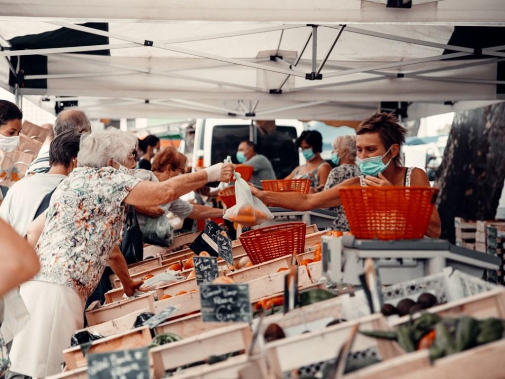 marché saint vivien dans le médoc
