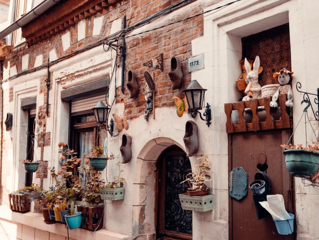 rue décorée Valenciennes