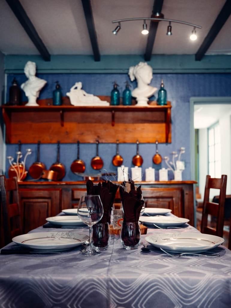 table à la roselière