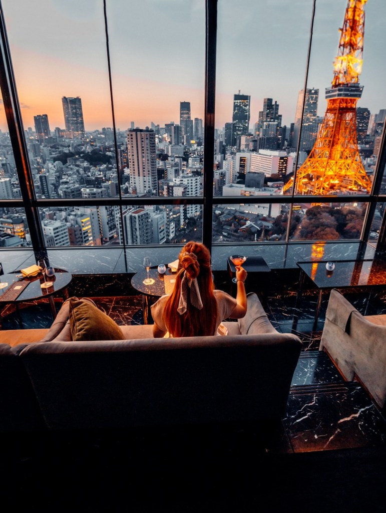 sky lounge prince park tower tokyo