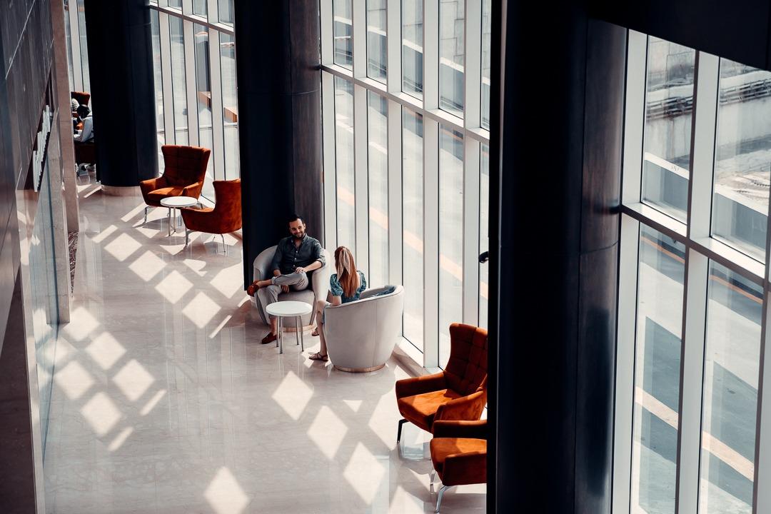 lobby radisson blu canal view