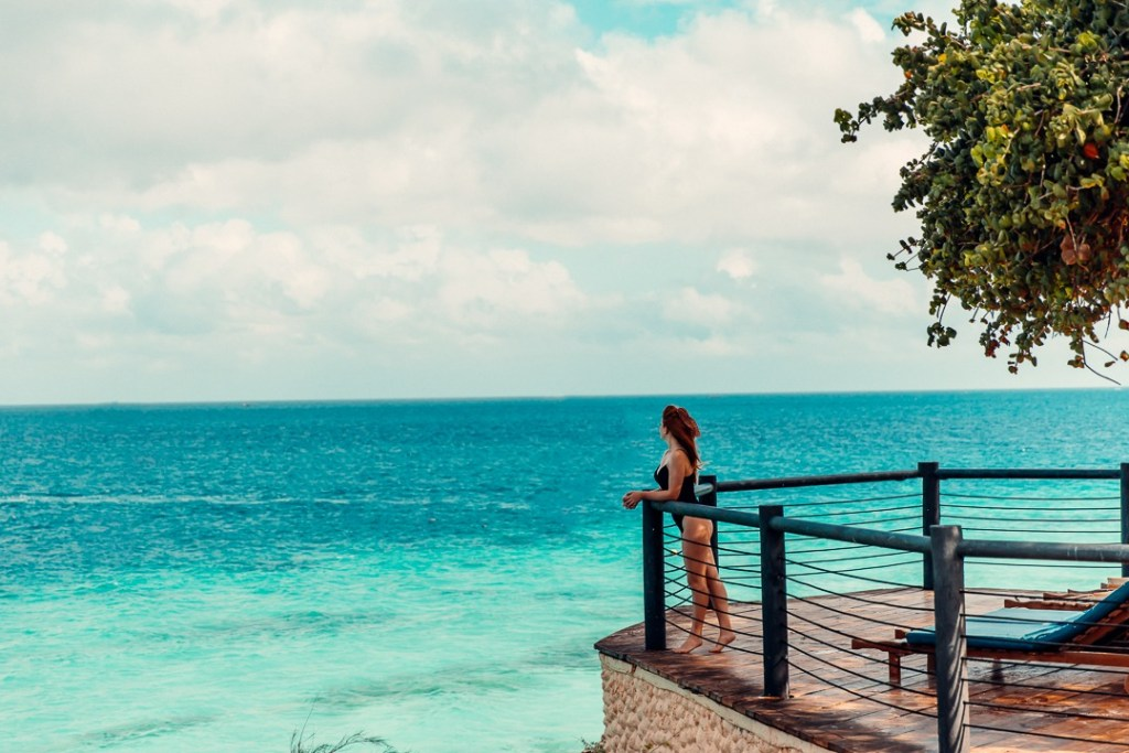 vue sur l'ocean royal zanzibar