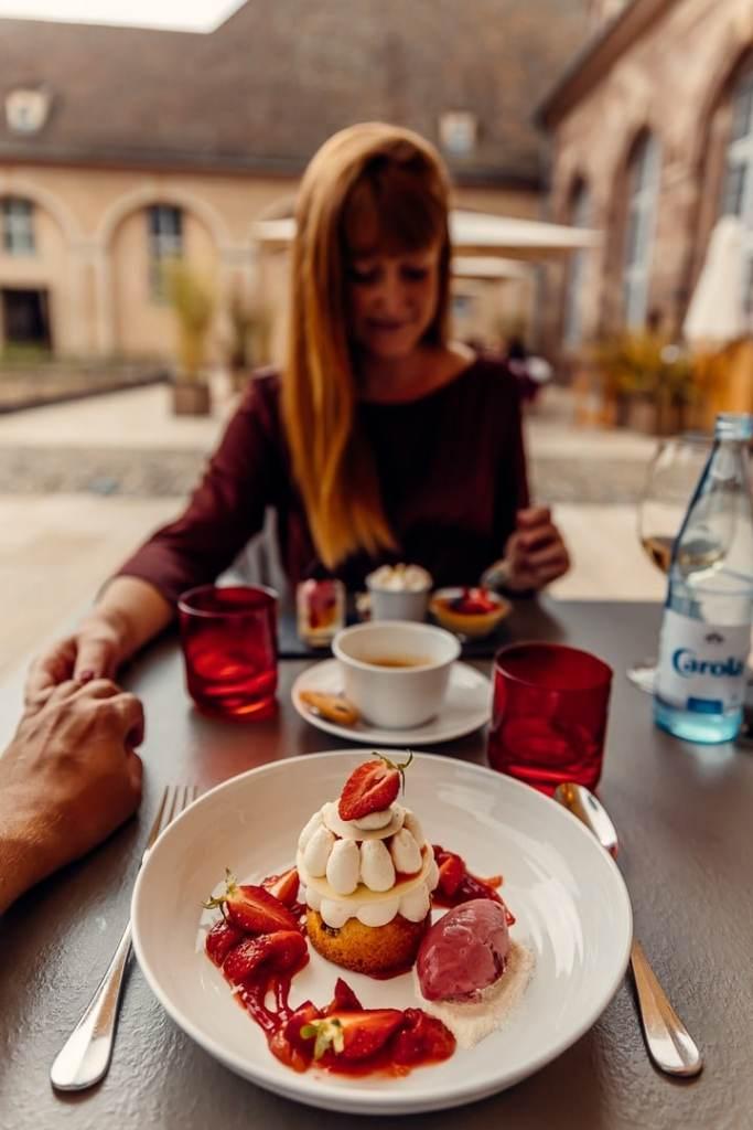 dessert brasserie les haras