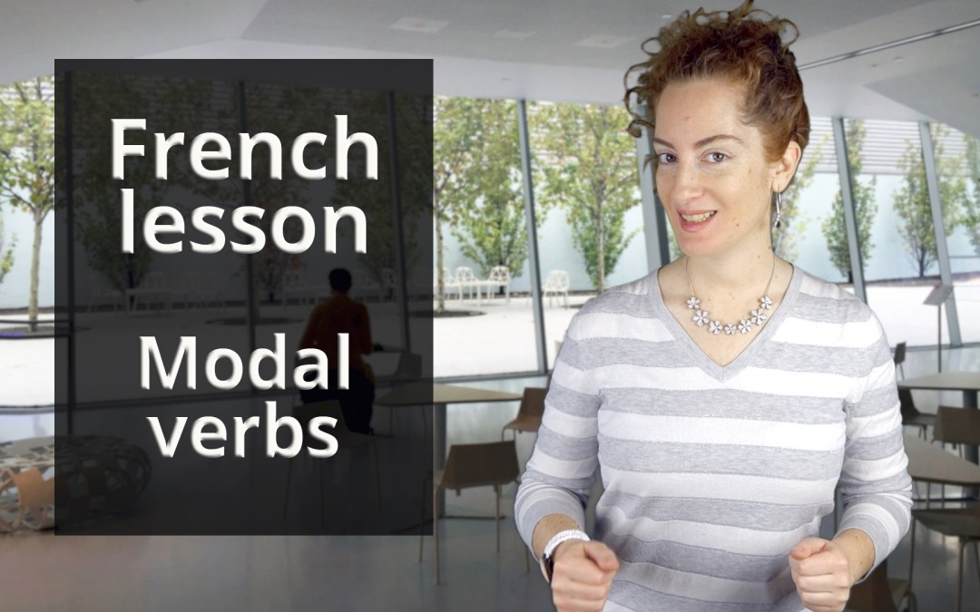 Modal verbs in French- A1 Chapter 2 Lesson 3
