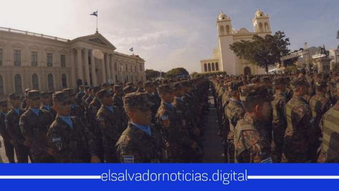 Nayib Bukele incorporan 1,000 nuevos soldados al Plan Control Territorial