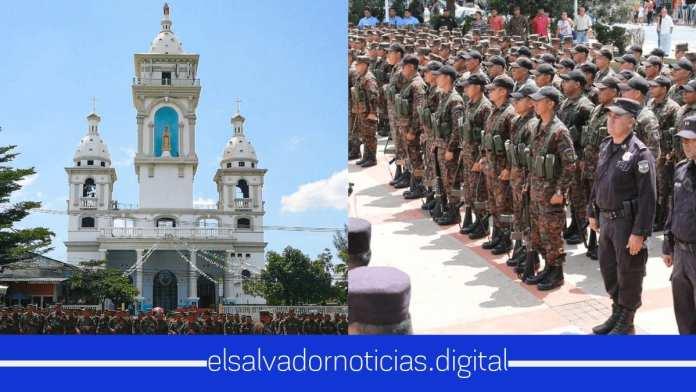 Plan Control Territorial llegó Chalatenago, Sensuntepeque, Gotera, San Vicente y Zacatecoluca