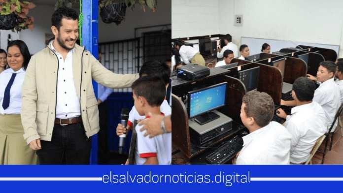 Escuela de Comunidad Las Palmas gozará de internet gratis, el cual beneficiara a 400 estudiantes
