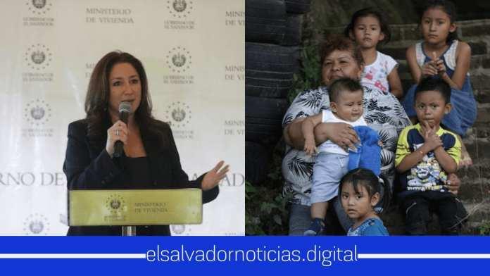 Ministra Michelle Sol entrega escrituras de propiedad a más de 1400 familias