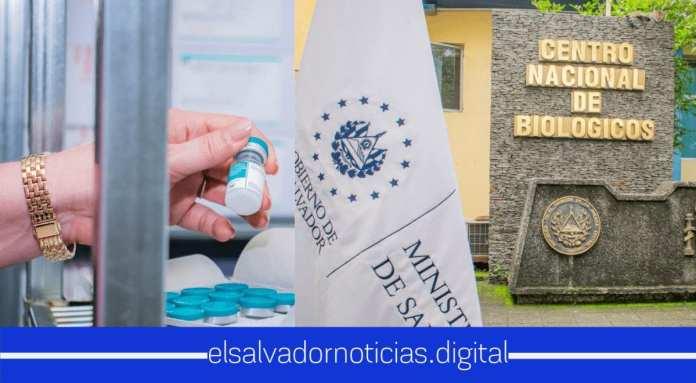 El Salvador con abastecimiento total en esquema nacional de vacunas