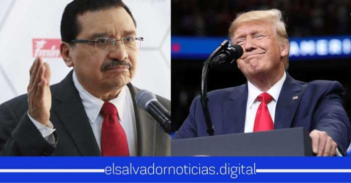 Medardo Gonzalez cuestiona a Donald Trump