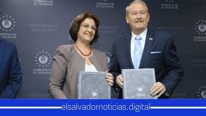 El Ministerio de Educación y la embajada de EEUU firman memorando de entendimiento