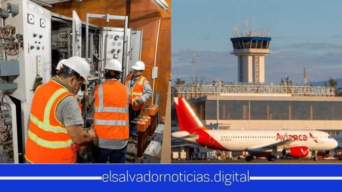 Comienzan trabajos de mantenimiento preventivo en el Aeropuerto de El Salvador