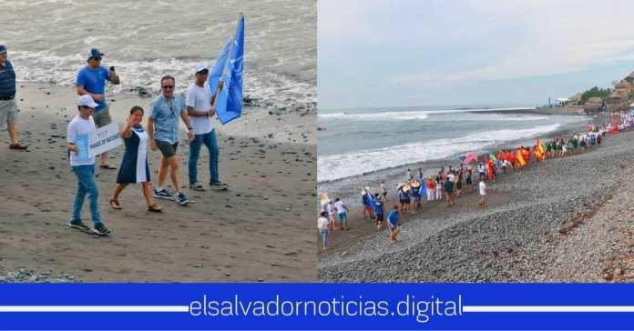 Inicio el desfile de Surfista previo al gran evento de Surf City