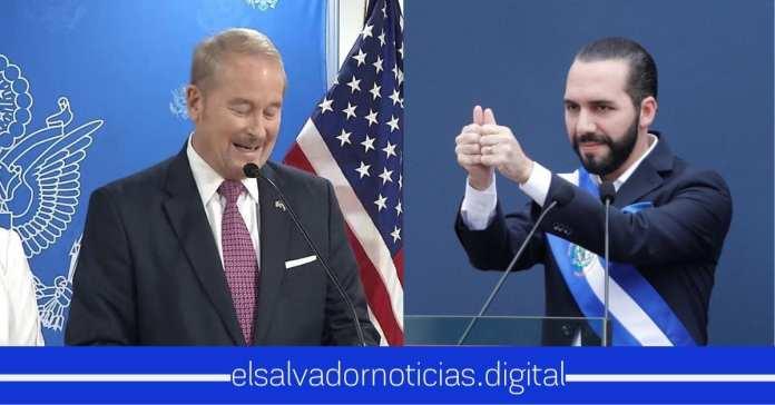 Embajador de EE.UU aplaude la valentía de Bukele al expulsar a diplomáticos de Venezuela