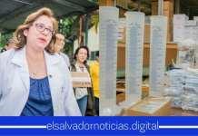 Ana Orellana asegura que ya no abrá malas gestiones, ni descuido en Hospital de Sensuntepeque