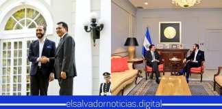 Nayib recibe a Mario Ponce en Casa Presidencial para tocar puntos de interés para El Salvador