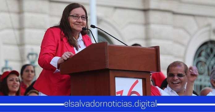 Norma Guevara dice que el FMLN goza cuando los salvadoreños sufren por las decisiones de su partido