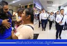 Parten a EEUU los primeros 50 salvadoreños a trabajar legalmente