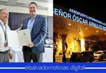 Aeropuerto Internacional del Salvador, se certifico por su excelente servicio