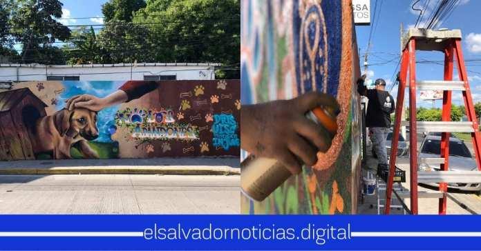 Elaboran mural dedicado al