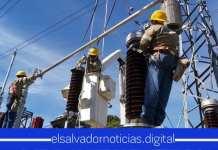 ETESAL sigue trabajando en época navideña para brindar mayor confiabilidad en energía óptima en todo El Salvador