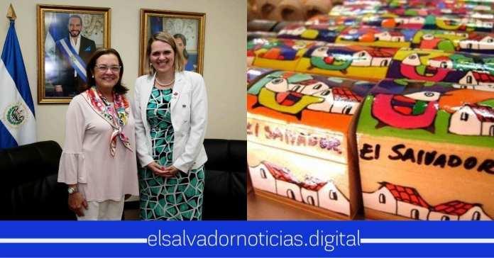 Nueva embajadora de Canadá se impresiona al ver el clima de negocio que tiene El Salvador