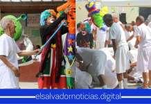Centro Penal La Esperanza le celebra el mes del adulto mayor a Privados de Libertad