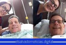 ¿Jorge Velado enfermo? El ex presidente de ARENA reaparece en un hospital