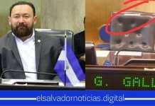"""La silla """"usurpada"""" lleno de mucho orgullo al diputado Gallegos al usarla en la Sesión Plenaria"""