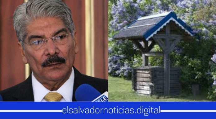 Se confirma que Norman Quijano habría utilizado dinero del Estado para construirle pozo a su exesposa