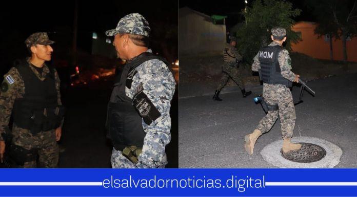 Ministro de Defensa arriesga su vida junto a la de sus compañeros patrullando en zonas que habían sido catalogadas con alto nivel de criminalidad