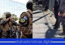 Policía Nacional Civil, se hace presente en todos los alrededores de la Asamblea Legislativa.