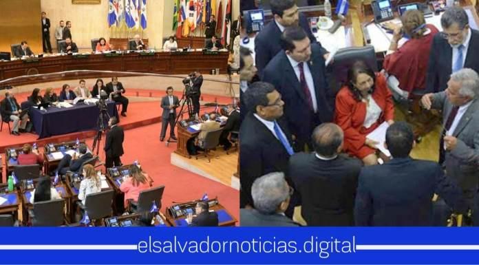 Después de la gran arrastrada que les dieron a ARENA y FMLN en la interpelación se dan cuenta del error y pide finalizar