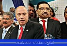 """Diputados se molestan al mencionarles """"corrupción"""" de ARENA y FMLN durante la interpelación"""