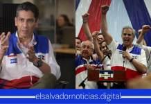 Gustavo López afirma que si ARENA y FMLN son cancelados será una injusticia para el país