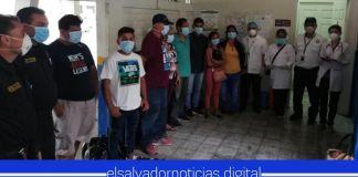 Capturan a salvadoreños por ingresar ilegalmente