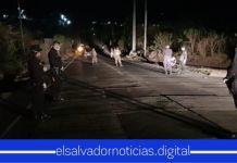 La PNC y la FAES tomaron control total en Metapán para localizar a las personas que estaban junto al primer caso de COVID-19 en el país