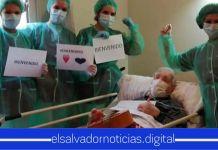 Abuelito de 98 años en España se recupera luego de estar en gravedad por el COVID-19
