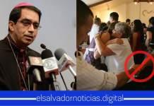 Última Hora: Iglesia Católica prohíbe a Salvadoreños darse la mano al momento del saludo de la paz como prevención del coronavirus