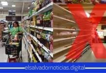 Última Hora Se descarta el riesgo de desabastecimiento en supermercados de El Salvador