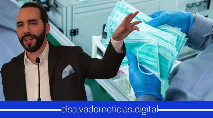 Presidente Bukele anuncia que ya se están adquiriendo 10 millones de mascarillas adicionales para todo El Salvador