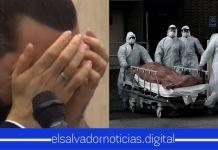 Nayib Bukele se entristece por la vida pérdida de un salvadoreño a causa del COVID-19