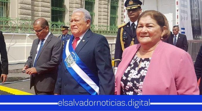 Esposa de Sánchez Cerén quiere postularse como diputada 2021-2024 por órdenes del FMLN