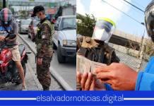 Autoridades reitera que la circulación de los salvadoreños únicamente puede ser mediante su terminación de DUI en el día correspondiente